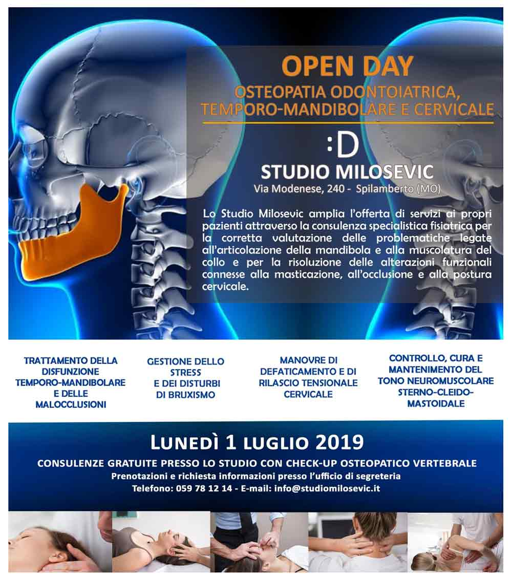 open day check up osteopatico modena